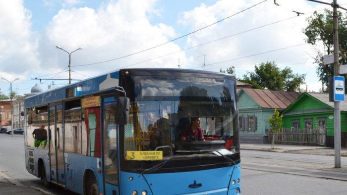 изменена схема движения автобуса