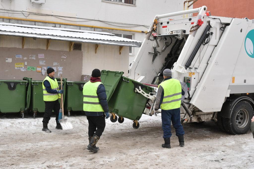 перевозчики мусора