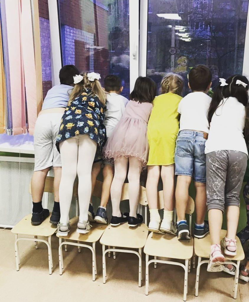 распределение в детских садах