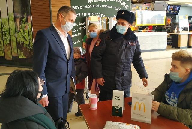 Октябрьском районе Самары нарушения