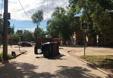 В Самаре ДТП с грузовым автомобилем