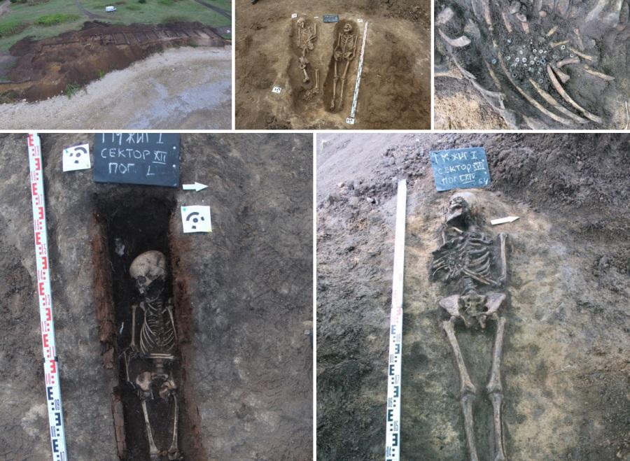 В Самарской области нашли захоронения Золотой Орды