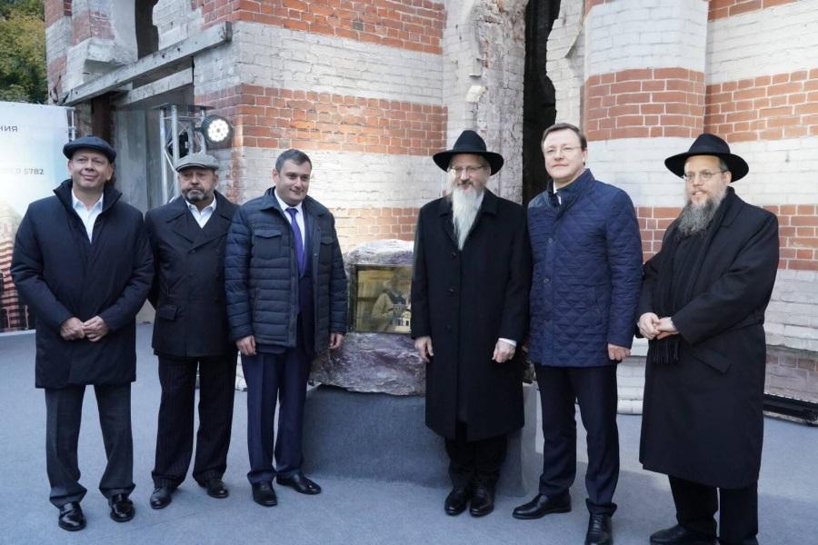 Самарскую синагогу восстановят
